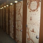 Cubicles wood with Digital Print1